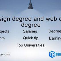 web design degree
